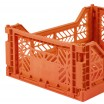 Aykasa Folding Crate - Midi Orange