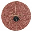 British Colour Standard Jute Placemats - Guardsman Red