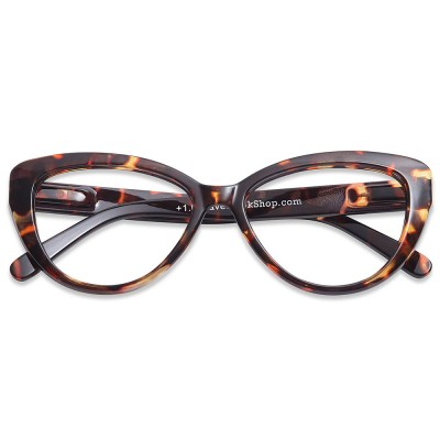 5bf3ee1ae754 Have A Look Reading Glasses - Cat Eye - Tortoise