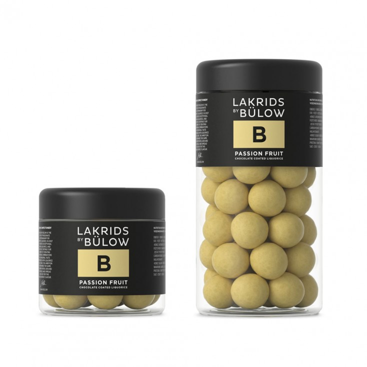 Lakrids By Bülow Chocolate Coated Liquorice B – Passion Fruit