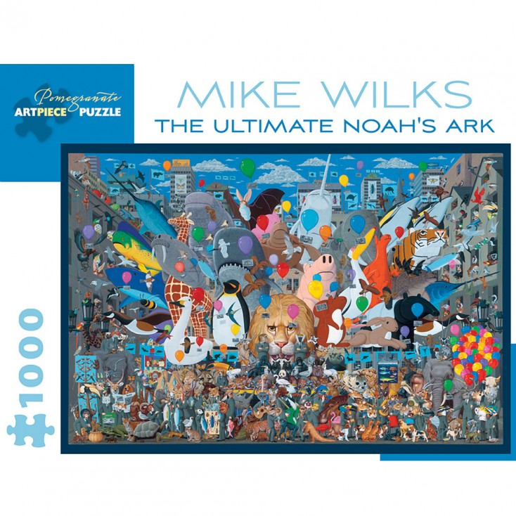 Pomegranate Mike Wilks The Ultimate Noah's Ark 100 Piece Jigsaw Puzzle