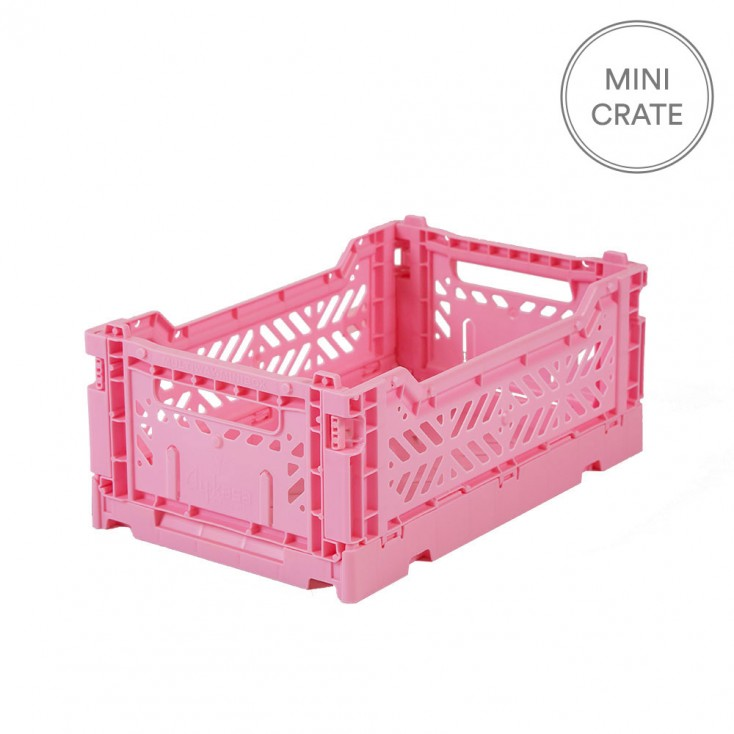Aykasa Folding Crate Mini - Pink