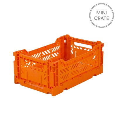 Aykasa Folding Crate Mini - Orange