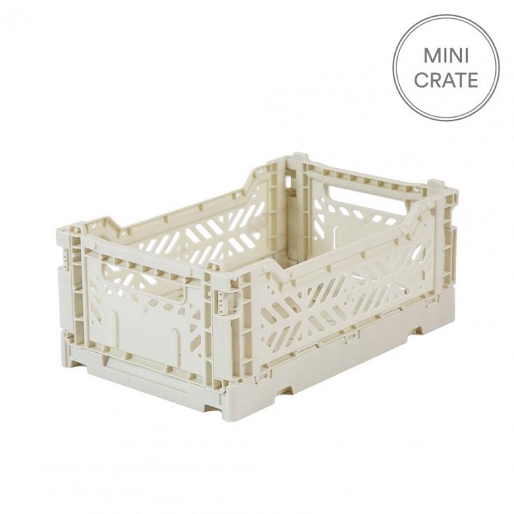 Aykasa Folding Mini Crate - Coconut Milk