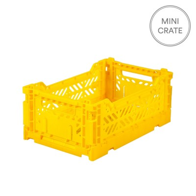 Aykasa Folding Crates Mini - Yellow