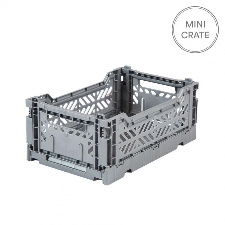 Aykasa Folding Crate Mini - Grey