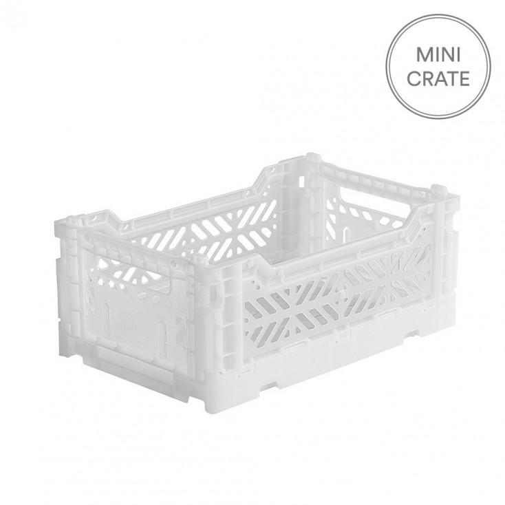 Aykasa Folding Crate Mini - White