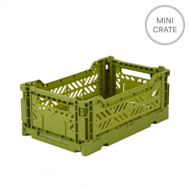 Aykasa Folding Crate Mini - Olive