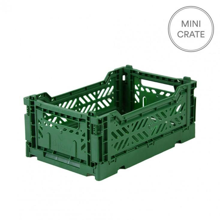 Aykasa Folding Crates Mini - Dark Green
