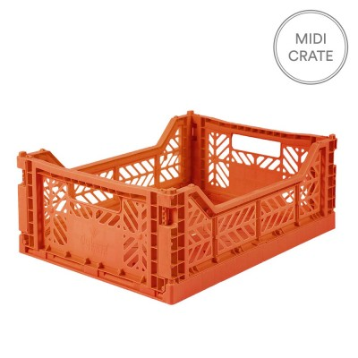 Aykasa Folding Crate - Midi Orange