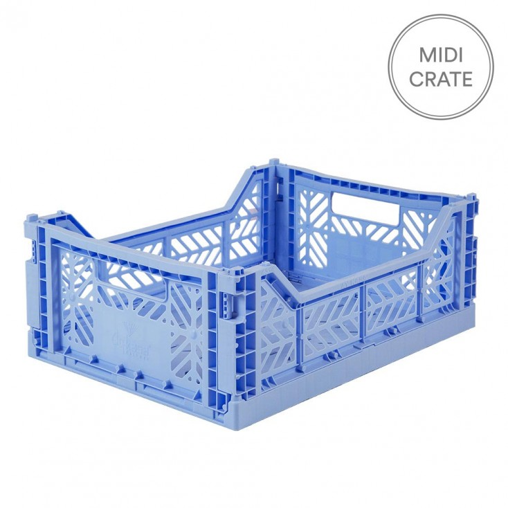 Aykasa Folding Crate Midi - Baby Blue