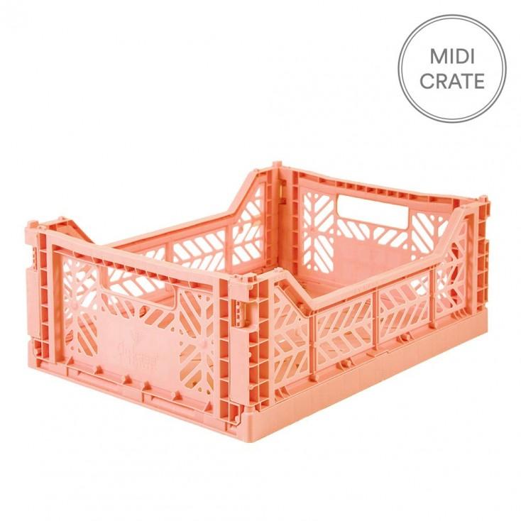 Aykasa Folding Crate Midi - Salmon