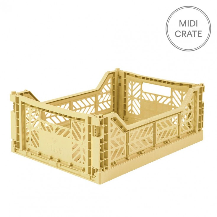 Aykasa Folding Crate Midi - Banana