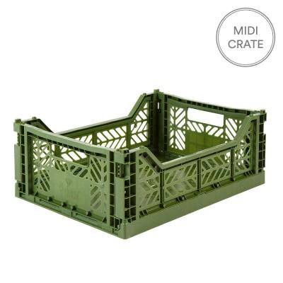 Aykasa Folding Crate Midi - Khaki