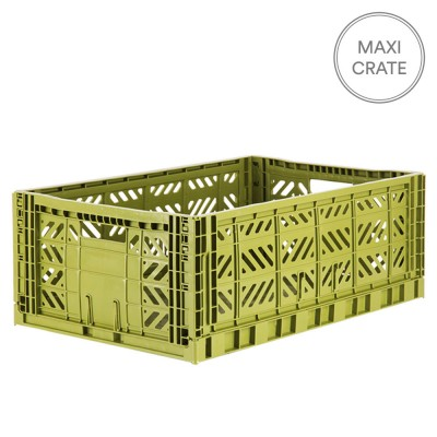 Aykasa Folding Crate Maxi - Olive