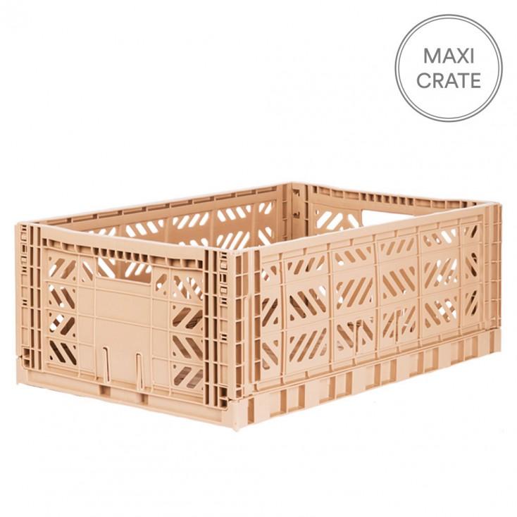 Aykasa Folding Crate Maxi - Milk Tea