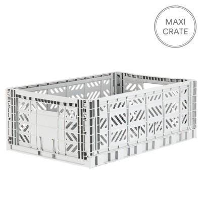 Aykasa Folding Crate Maxi - Light Grey