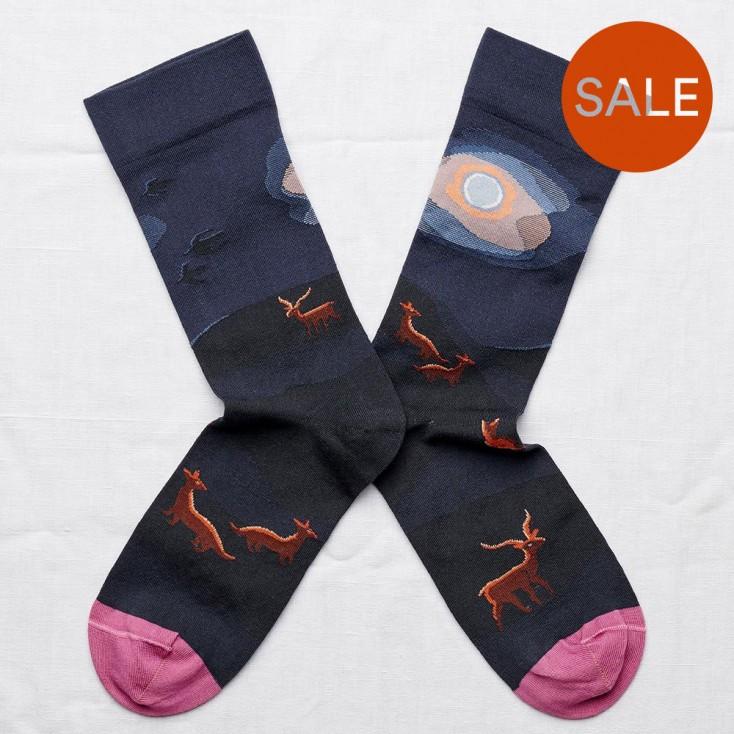 Bonne Maison Socks - Night Fox