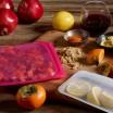 Stasher Silicone Sandwich Bag - Raspberry