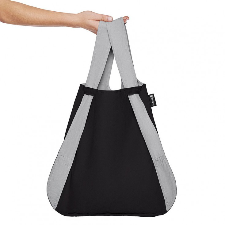 Notabag Transforming Tote - Grey & Black