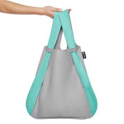 Notabag Transforming Tote - Mint & Grey