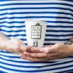 Helen B Porcelain Beaker - Don't Be Afraid
