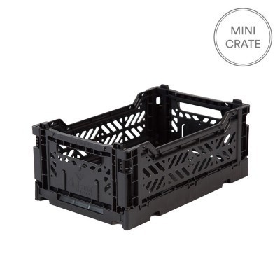 Aykasa Folding Crate Mini - Black