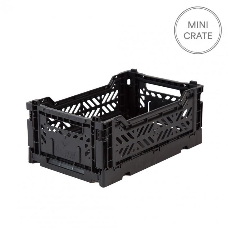 Aykasa Folding Crate Mini - Black