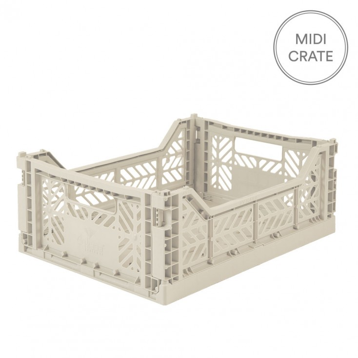 Aykasa Folding Crate Midi - Coconut Milk
