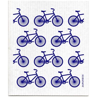 Jangneus Dishcloth - Blue Bike