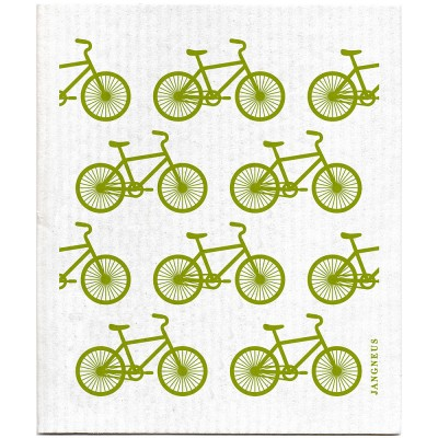 Jangneus Dishcloth - Green Bike