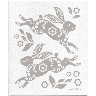 Jangneus Dishcloth - Grey Hare