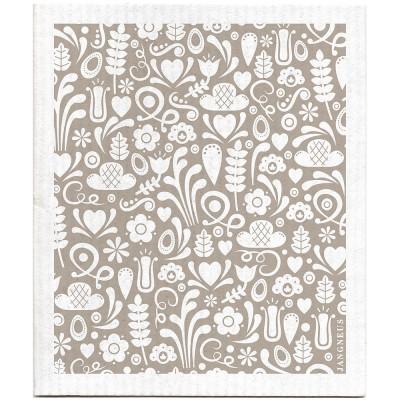 Jangneus Cellulose Dishcloth - Grey Dala