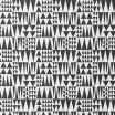 Fabric Remnant - Jazz Black