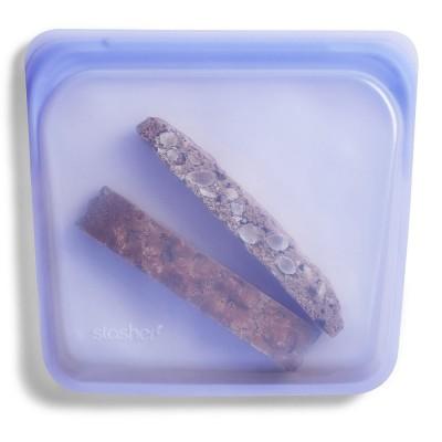 Stasher Silicone Sandwich Bag - Amethyst