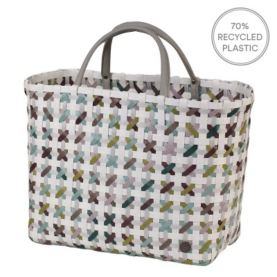 Handed By Blossom Shopper - White Multi