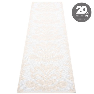 Pappelina Siri Runner - White Metallic : White 70 x 250 cm
