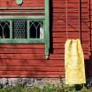 Pappelina Siri Runner - Mustard : Pale Yellow 70 x 250 cm