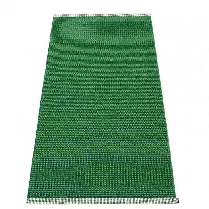 Pappelina Mono Grass Green : Dark Green Runner - 85 x 160 cm