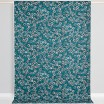 Scandinavian Fabric - Spira Yoko Blue - Full 150cm Width