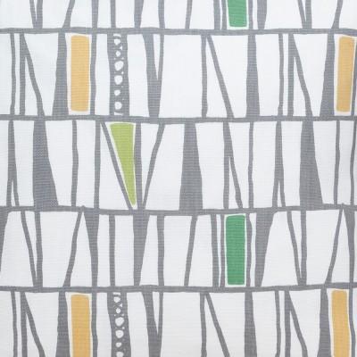 Scandinavian Fabric - Spira Mosaik Green