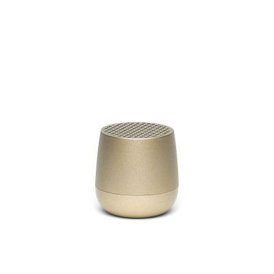 Lexon MINO Pairable Bluetooth Speaker - Light Gold