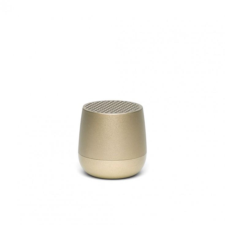 Lexon MINO Pairable Bluetooth Speaker - Light Gold