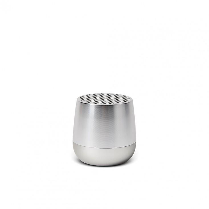 Lexon MINO Pairable Bluetooth Speaker - Shiny Aluminium