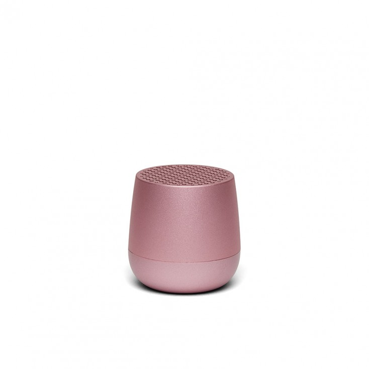 Lexon MINO Pairable Bluetooth Speaker - Light Pink