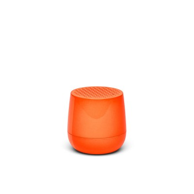 Lexon MINO Pairable Bluetooth Speaker - Fluro Orange