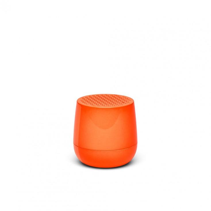 Lexon MINO Pairable Bluetooth Speaker - Fluro Orange