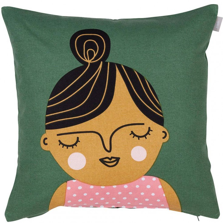 Spira of Sweden Face Cushion - Esmeralda