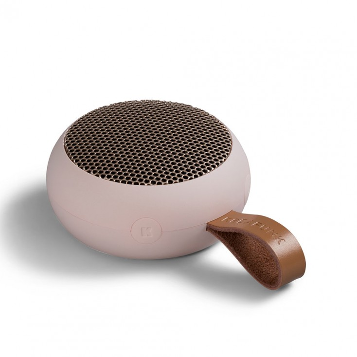 Kreafunk aGo Bluetooth Speaker - Dusty Pink / Rose Gold