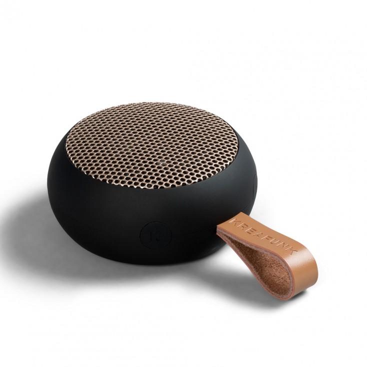 Kreafunk aGo Bluetooth Speaker - Black / Rose Gold